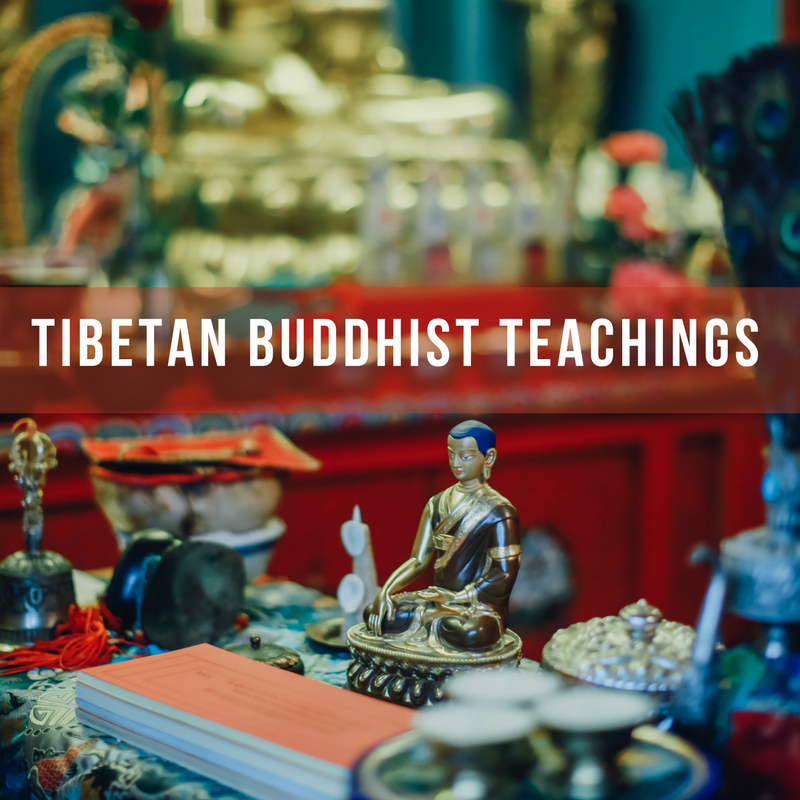 Tibetan Buddhist teachings workshop