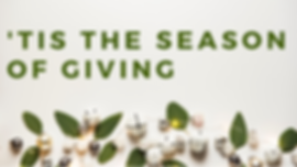 Tis the season of giving FB event cover.