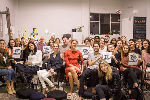 Conscious Action event group photo