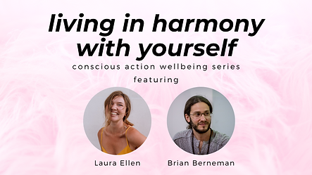 Living in harmony with yourself FB event