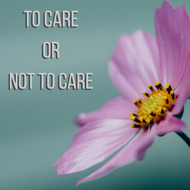 To Care or Not To Care workshop
