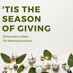 'Tis theseason of giving