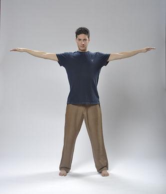 Brian Tibetan Yoga posture