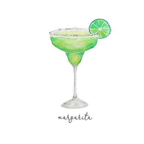 Watercolor Margarita