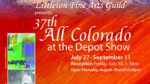 37th All Colorado at the Depot Art Show