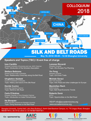 Silk and Belt Roads - Colloquium 2018