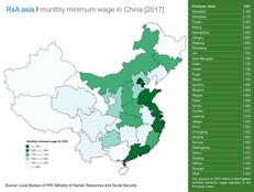 Minimum wage in China