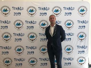 In Tuvalu, at Pacific Islands Forum
