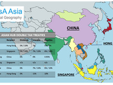 Asian Hub Double Tax Treaties