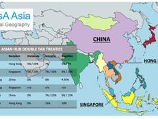 Asian Hub Double Tax Treaties