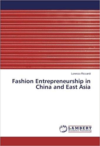 Fashion Entrepreneurship in China and East Asia