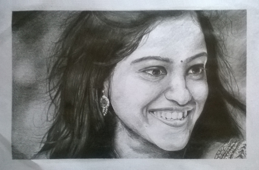Pencil on White Drawing paper