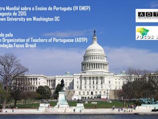 IV Encontro Mundial sobre o Ensino de Português – Nosso Idioma