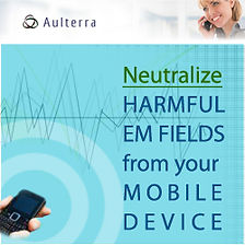 Neutralize harmful EM fields from your mobile device