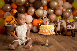 cake smash estudio deborah pinheiro fotografia