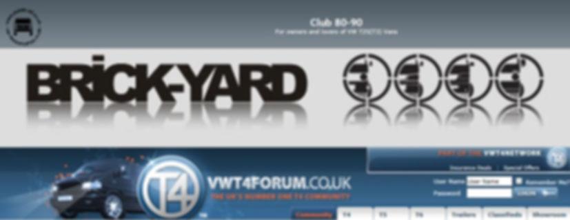 Club 80 -90, BrickYard, VW T3, T4, T5, T6 Forum