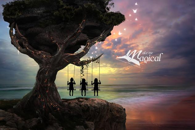 girls on swing in Katie's tree.jpg
