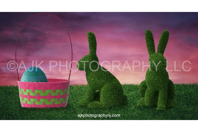 giant Easter basket and rabbit after.jpg