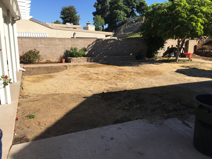 Before of Gorge Garden