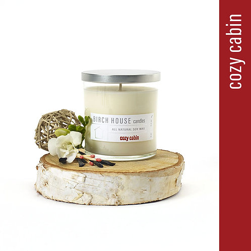 11.5 OZ COZY CABIN SOY WAX CANDLE