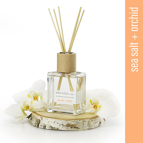 4.8 OZ SEA SALT + ORCHID REED DIFFUSER