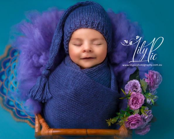 Bunbury newborn photo