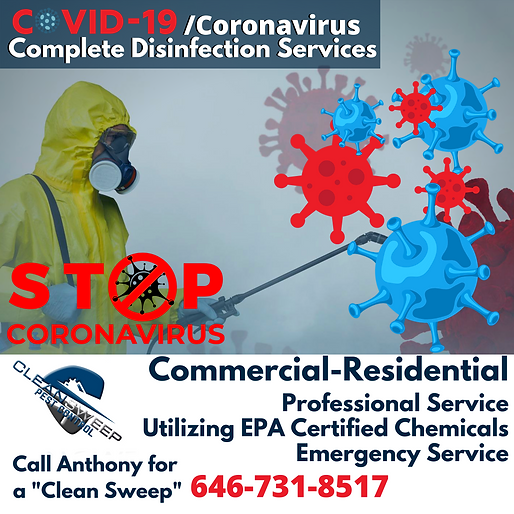 Commercial-Residential Covid-19 Disinfec