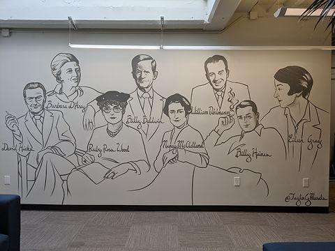Portrait Mural