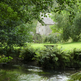 The mill from across the river