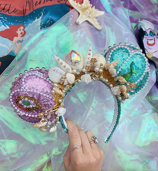 Luxury Mermaid Princess Ears