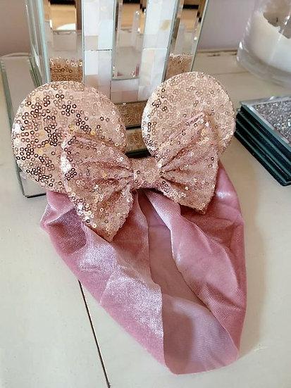 Children's Gold Sequin Ears