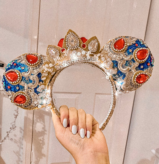 Luxury Vintage Snow White Ears