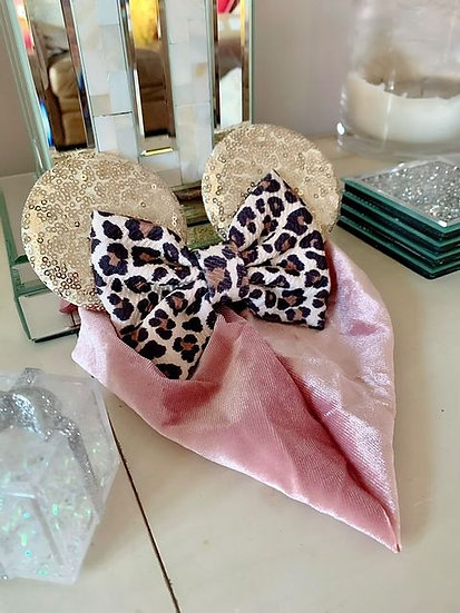 Children's Leopard Print Ears
