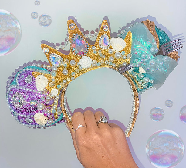 Luxury Mermaid Princess Ears