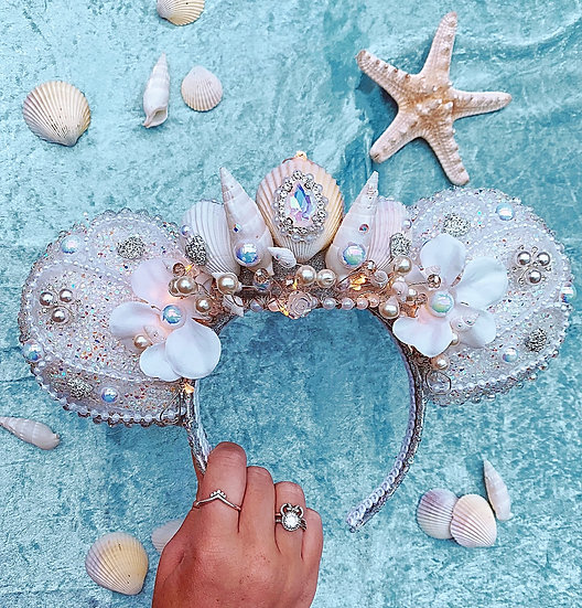 Luxury Crystal Mermaid Ears