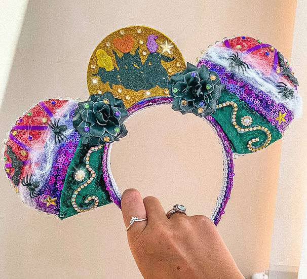 Three Witches of Halloween Luxury Ears
