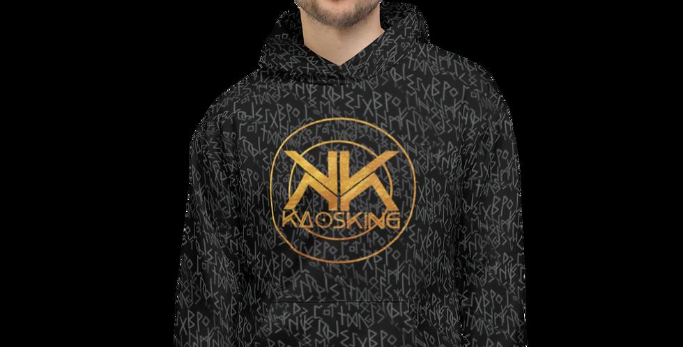 KaosKing Runes Unisex Hoodie