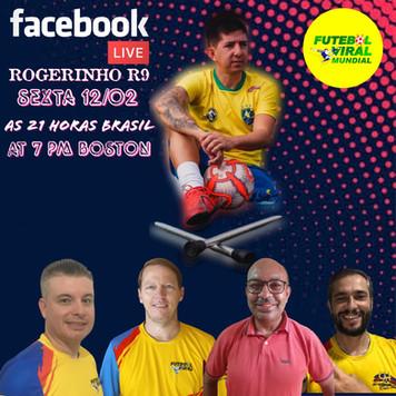 Futbol Viral: Facebook live with Rogerinho