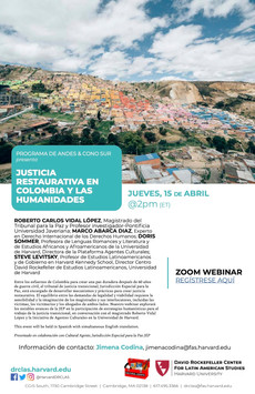 Restorative Justice in Colombia and the Humanities