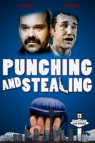 PUNCHING AND STEALING FINAL Flat Blue Po