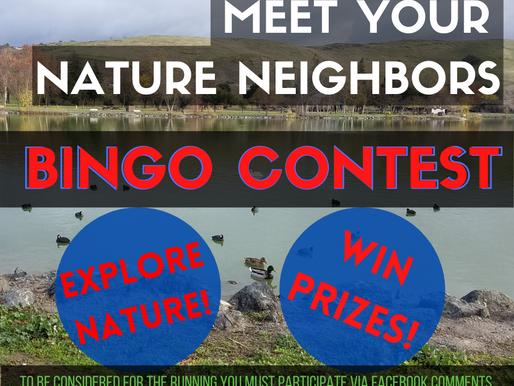 Meet Your Nature Neighbors: Bingo Contest