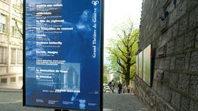 Format des affiches Outdoor en Suisse