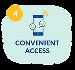 convenient access