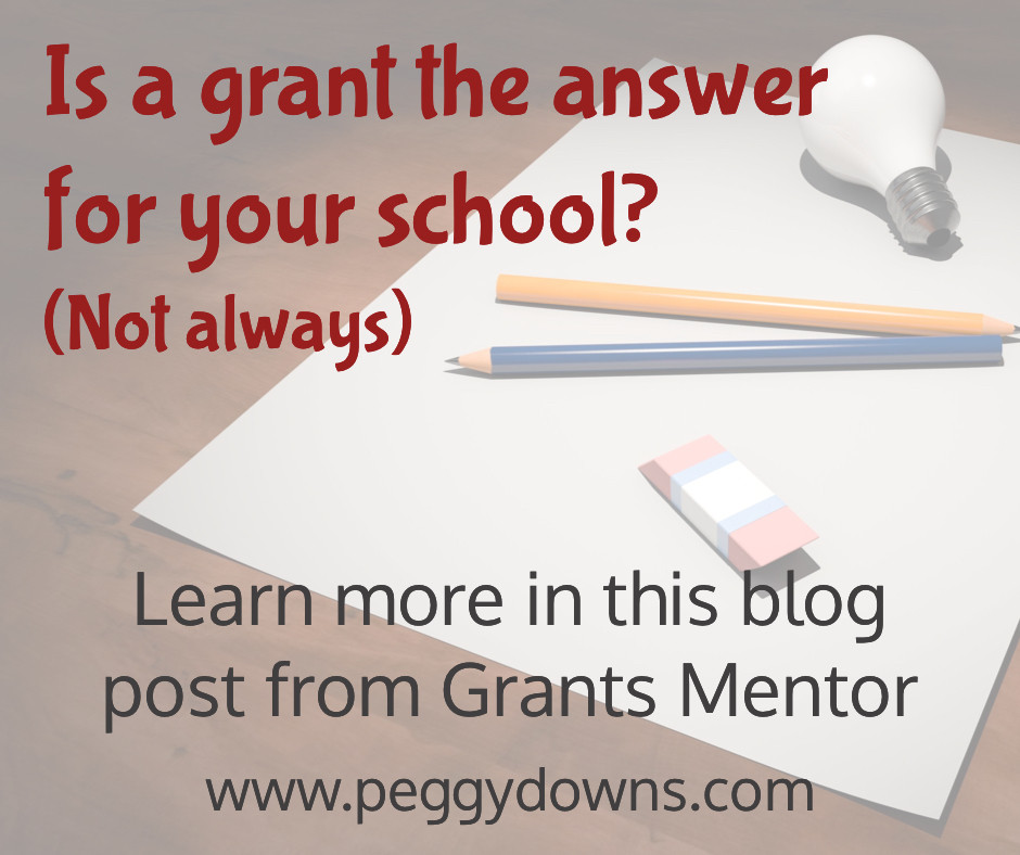 Is a grant the answer for your school?