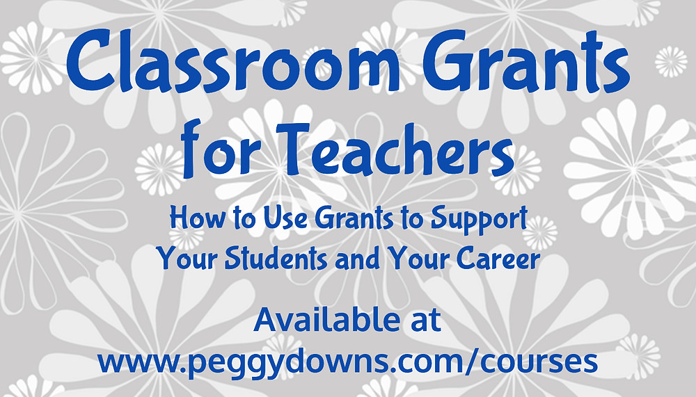 Classroom Grants for Teachers Training Course