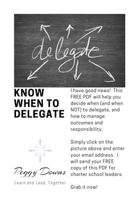 Know When to Delegate