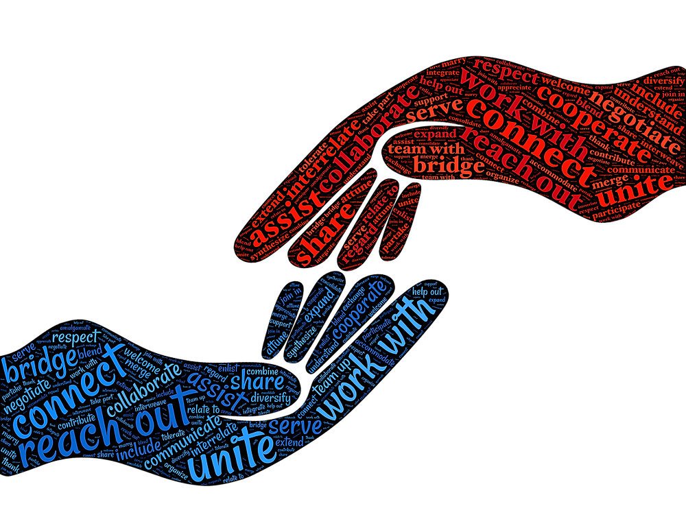cooperate & collaborate