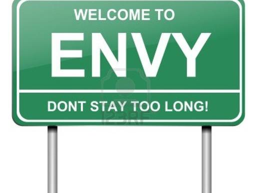 Envy-the Silent Killer!