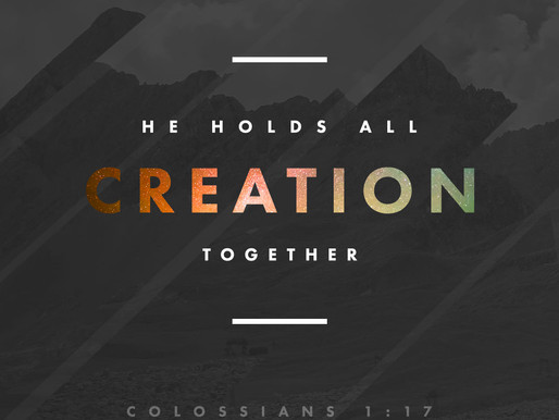 When We're Falling Apart God is Holding us Together!