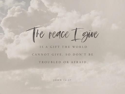 Peace Be Still!!